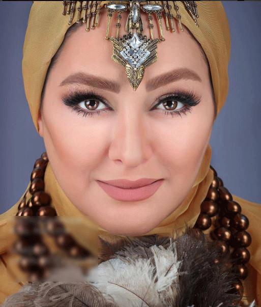 مدل آرایش الهام حمیدی