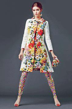 مدل مانتوی گلگلی