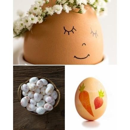 تزیین تخم مرغ سال نو