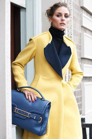 مدل پالتوی زرد و مشکی