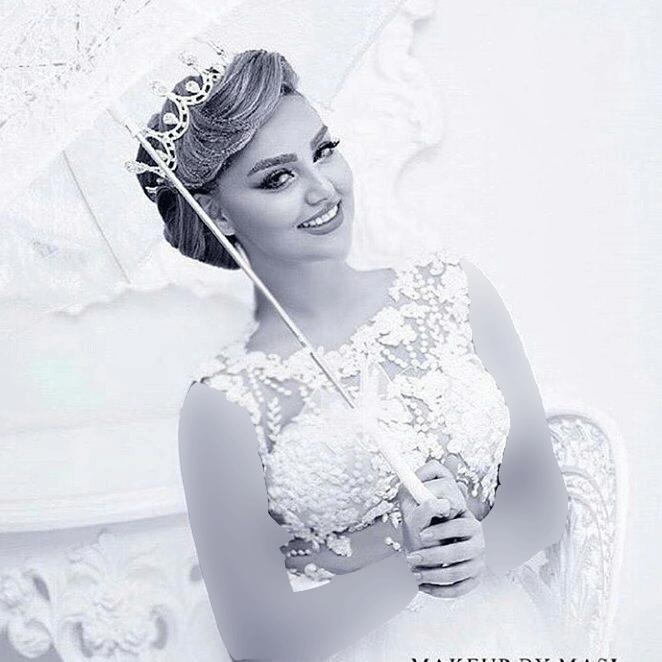 مدل آرایش عروس خانم