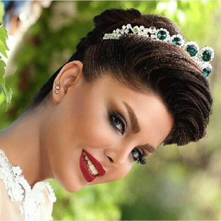 مدل آرایش جاری عروس