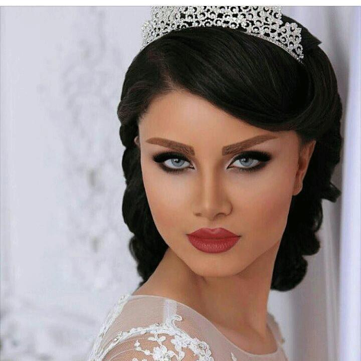 مدل آرایش عروس خلیجی