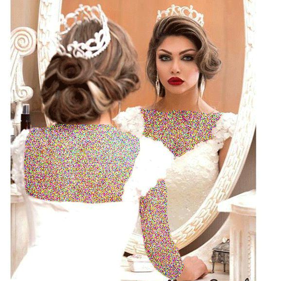 مدل آرایش غلیظ عروس