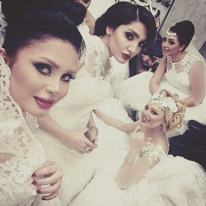 چند مدل آرایش عروس