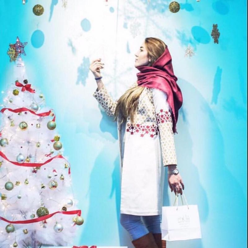مدل مانتوی کریسمس