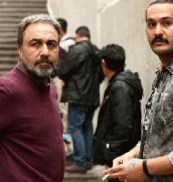 میلاد کی مرام و رضا عطاران در فیلم آبنبات چوبی