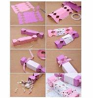 آموزش گام به گام ساخت جعبه شکلات