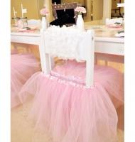 تزیین صندلی جشن تولد دخترانه