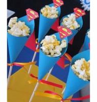 تزیینات جشن تولد با تم سوپر من