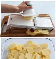 آموزش گام به گام پیتزا سیب زمینی-آشپزی مامانم