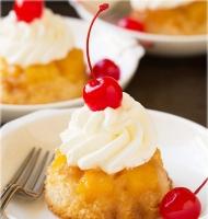 آموزش گام به گام کاپ کیک آناناسی - آشپزی مامانم