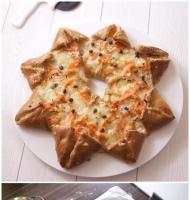 آموزش گام به گام پیتزا ستاره ای - آشپزی مامانم