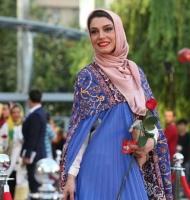 الیکا عبدالرزاقی با حال در جشنواره حافظ