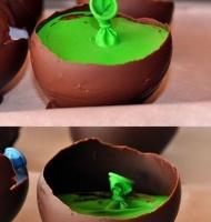 آموزش گام به گام تهیه ظرف شکلاتی