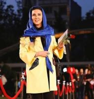 لیلا بلوکات زردپوش در جشنواره حافظ