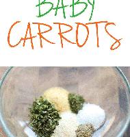 هویج های برشته