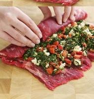 آموزش گام به گام تهیه رول گوشت