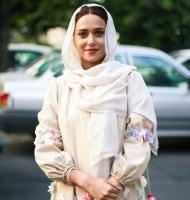 پریناز ایزدیار یا شیرین شهرزاد در جشنواره حافظ