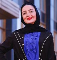 شیلا خداداد زیبا در جشنوراه حافظ