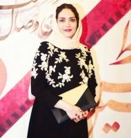 بهنوش طباطبایی در جشنواره حافظ
