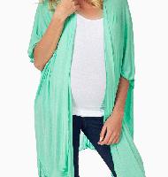 مدل لباس بارداری آبی فیروزه ای