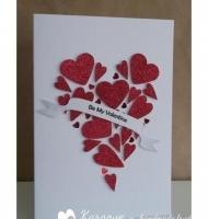 تزیین کارت پستال ولنتاین جدید