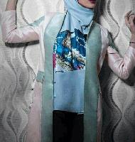 مدل مانتوی ساتن