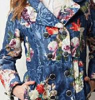 مدل مانتوی گلدار