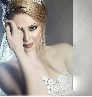 مدل آرایش قهوه ای عروس