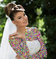 مدل آرایش فوق الهاده زیبای عروس