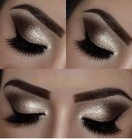مدل آرایش زیبای چشم