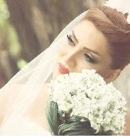 مدل آرایش ملیح عروس