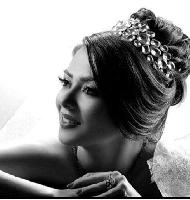 مدل شینیون زیبای عروس