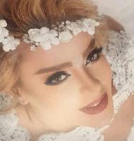 مدل آرایش زیبای عروس