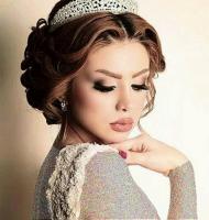 مدل آرایش عروس ناز ایرانی