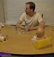 خنده شیرین چهارقلوها