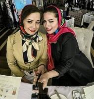 سلفی مهراوه و ملیکا شریفی نیا