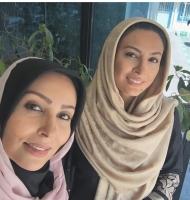 سلفی حدیثه تهرانی و پرستو صالحی