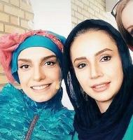 شبنم قلی خانی و الیکا عبدالرزاقی