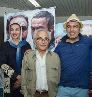 رضا عطاران و جمعی از بازیگران آبنبات چوبی