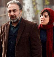 رضا عطاران و هنگامه حمید زاده در فیلم آبنبات چوبی