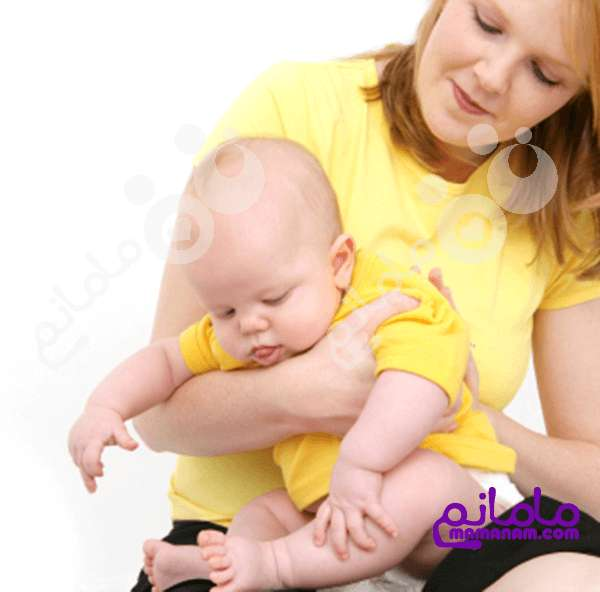شیر خشک و دل درد نوزاد