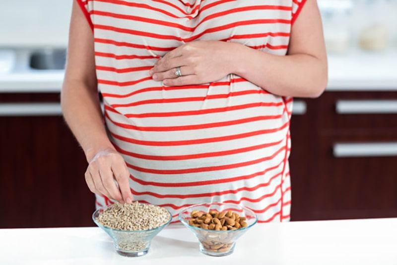 آجیل در بارداری