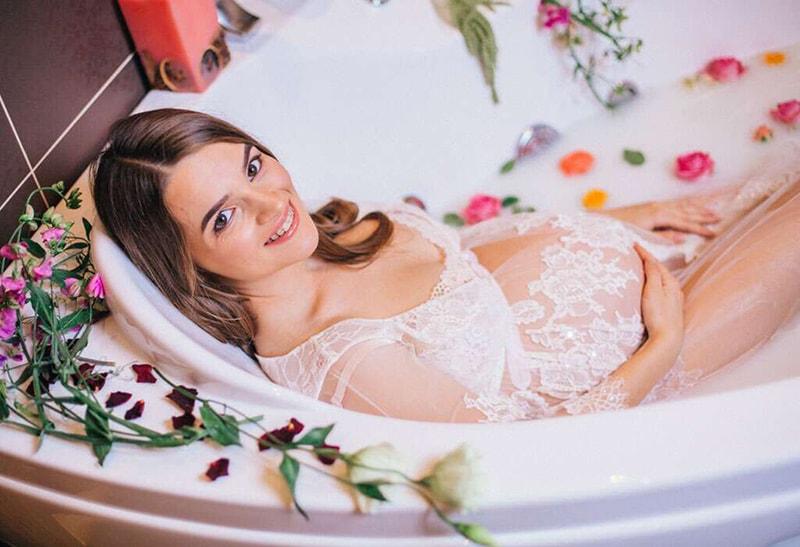 دوش آب داغ در بارداری