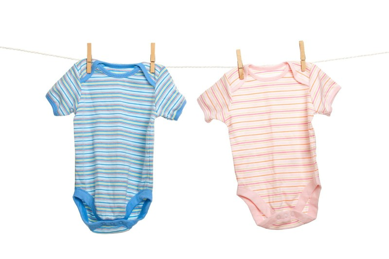 blue-pink-baby-clothes