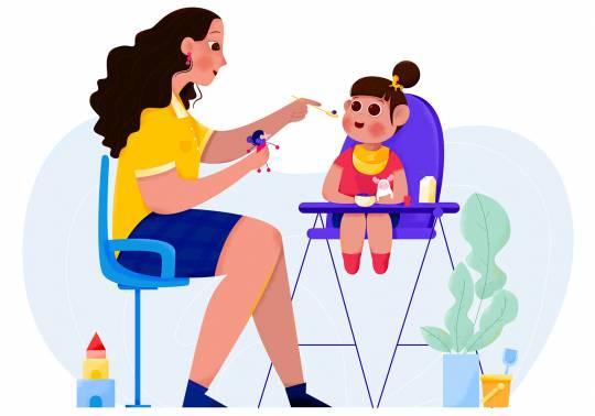 کامل ترین برنامه غذایی نوزاد شش ماهه | غذای کودک 6 ماهه